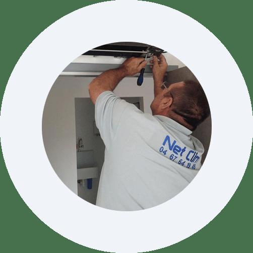 entretien de climatisation près de Montpellier, dans l'Hérault (34)